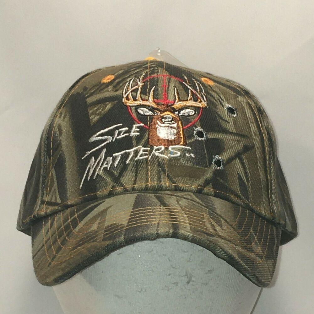 Funny deer hunting hat camo baseball cap mens hats caps