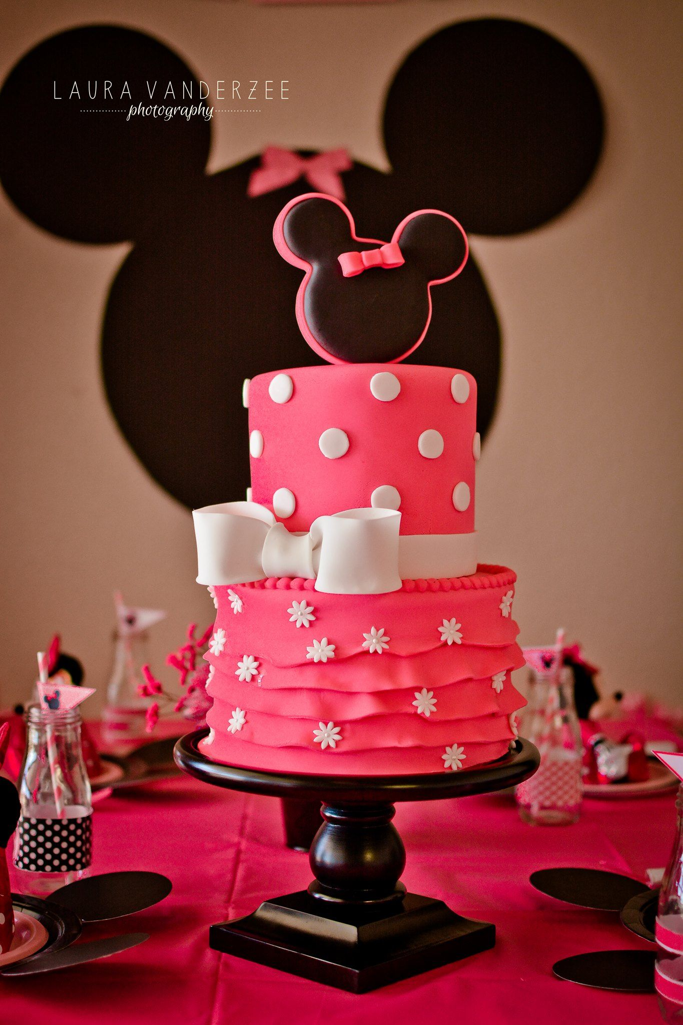 Minnie mouse cake photo taken by laura vanderzee