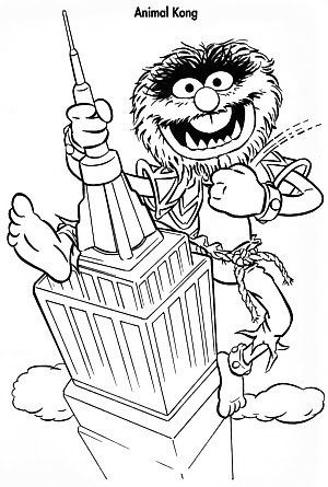 Greatmuppetskong Jpg Cartoon Coloring Pages Fairy Coloring Pages Coloring Books