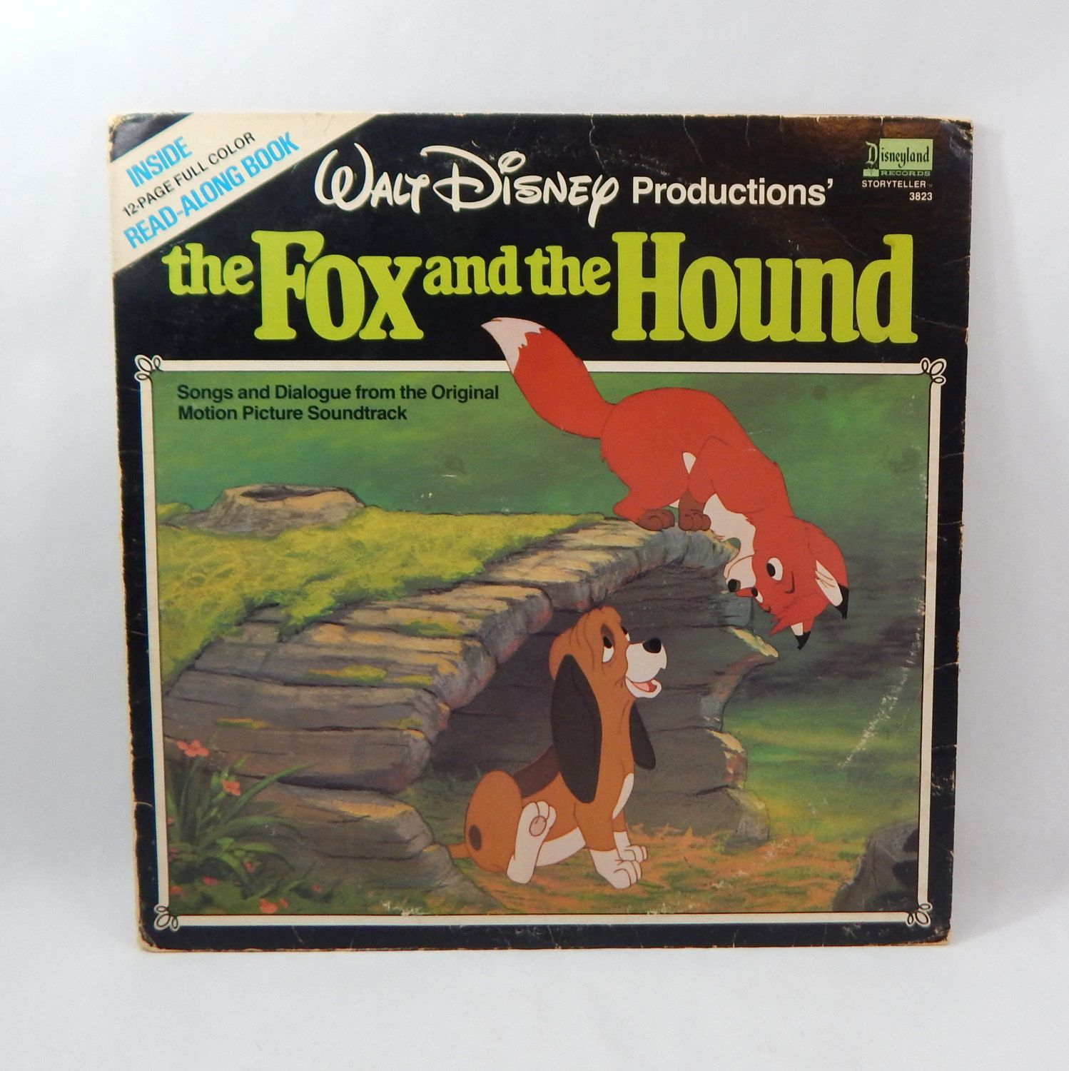 The Fox And The Hound Vinyl Record, 1981 Songs & Dialogue