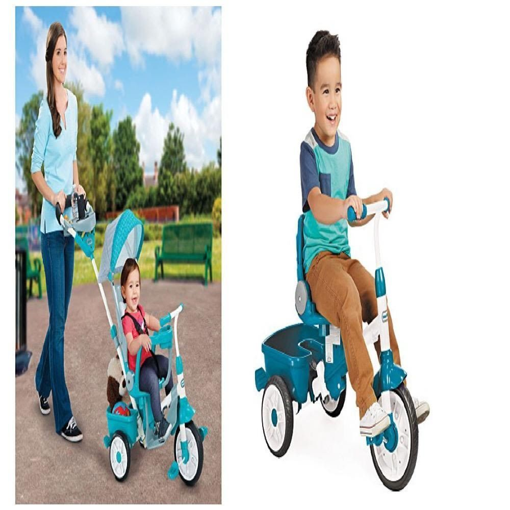 new out 4 Trike Little Perfect Fit 1 Tikes Teal Seat