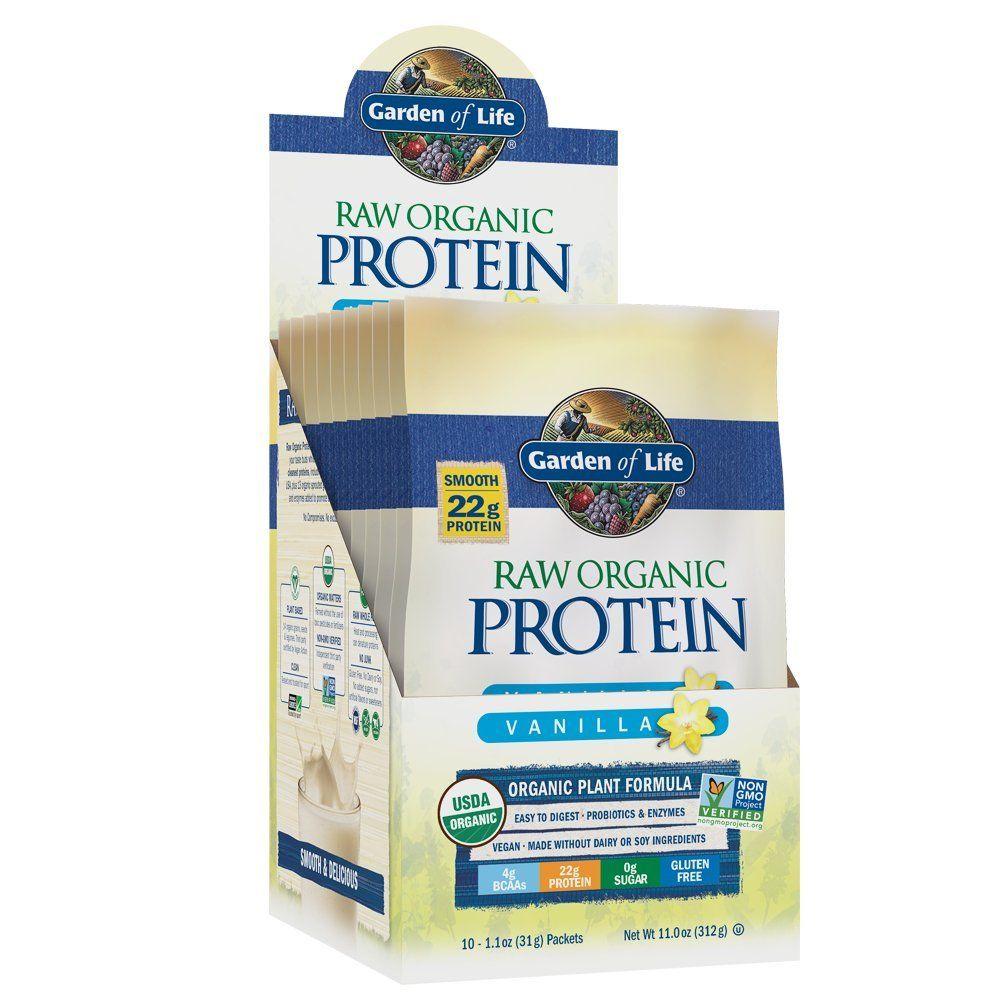 Garden of Life Organic Vegan Protein Powder with Vitamins