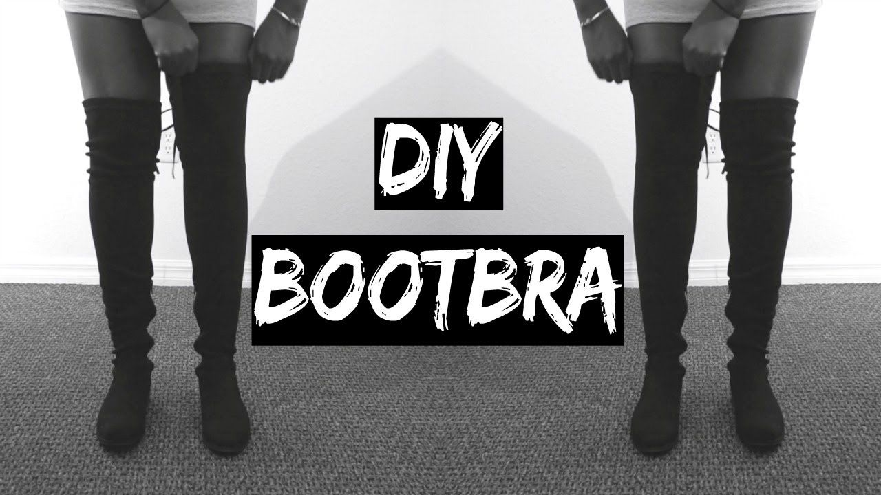 7eebd6f003f DIY  HOW TO KEEP YOUR OVER THE KNEE BOOTS FROM FALLING SLOUCHING ...