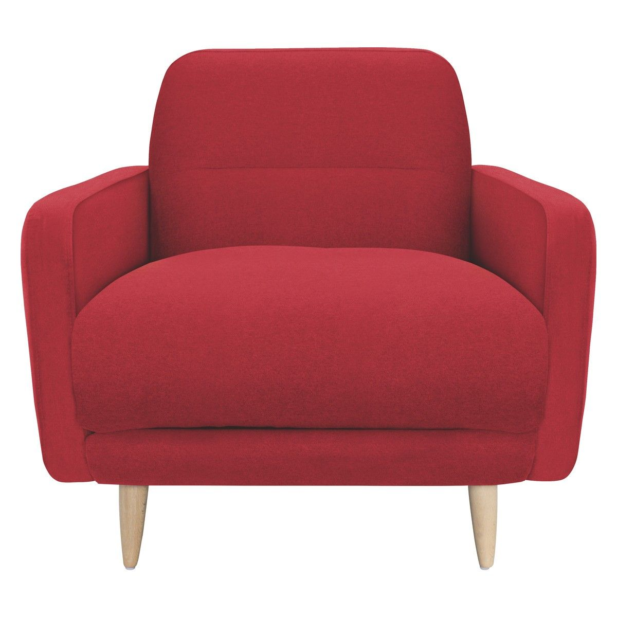 Abel Red Fabric Armchair Buy Now At Habitat Uk Playroom Revamp