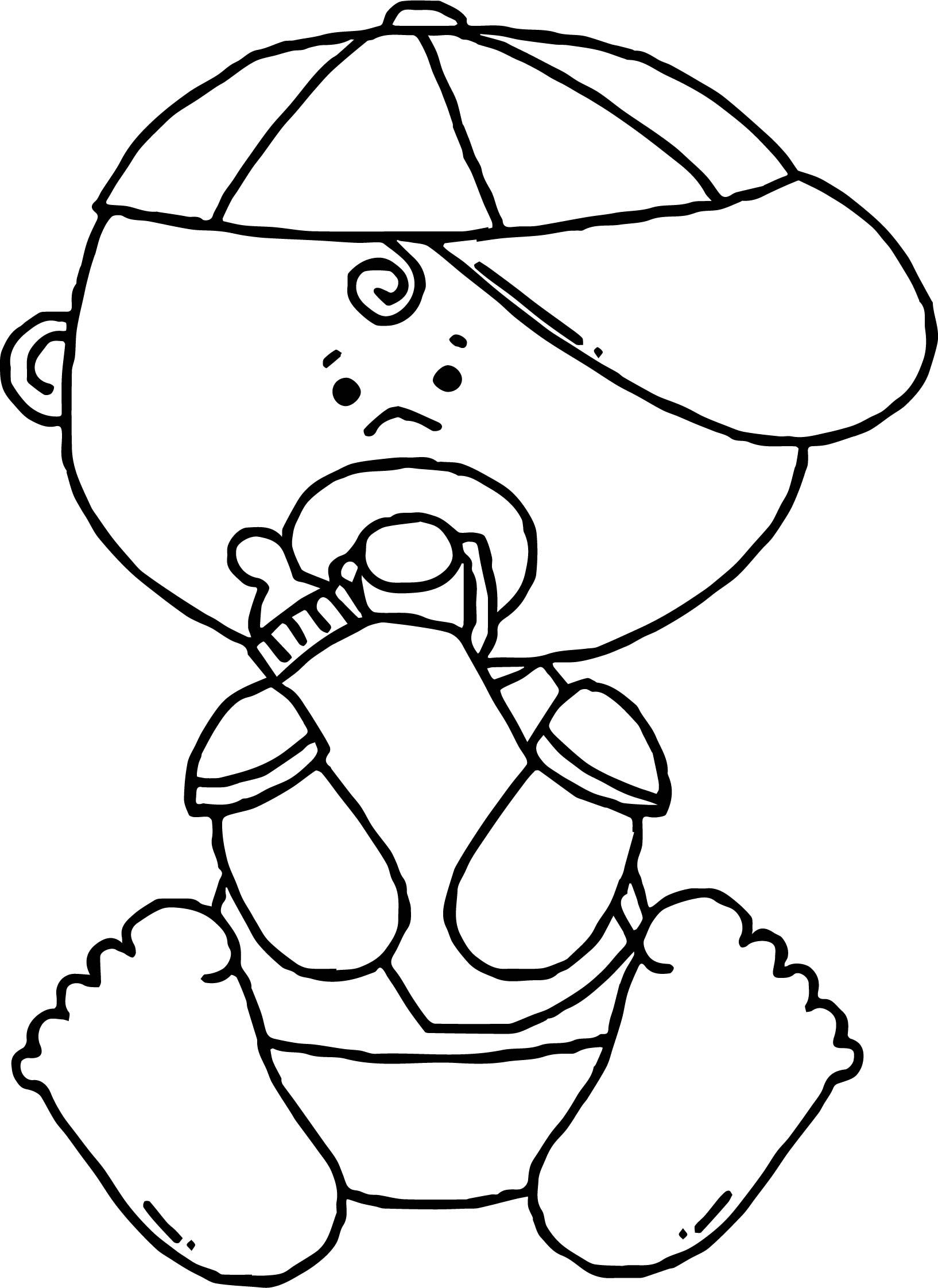 Nice Baby Boy Drink Milk Coloring Page Drink Milk Baby Boy