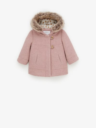 Baby Girls Outerwear New Collection Online Zara United States Duffel Coat Baby Coats Girl Duffle Coat