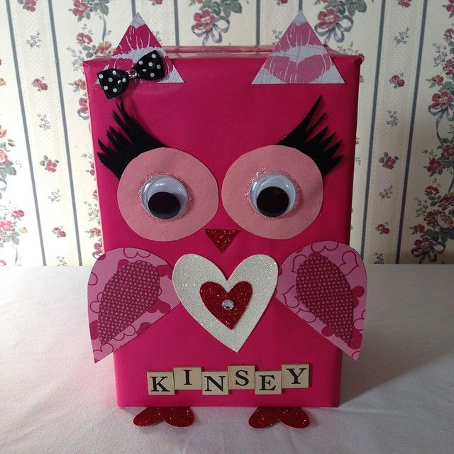 My daughters Valentine Box for school!