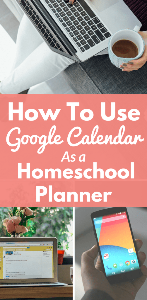 How To Use Google Calendar As A Free Online Homeschool Planner - At Home With Holly