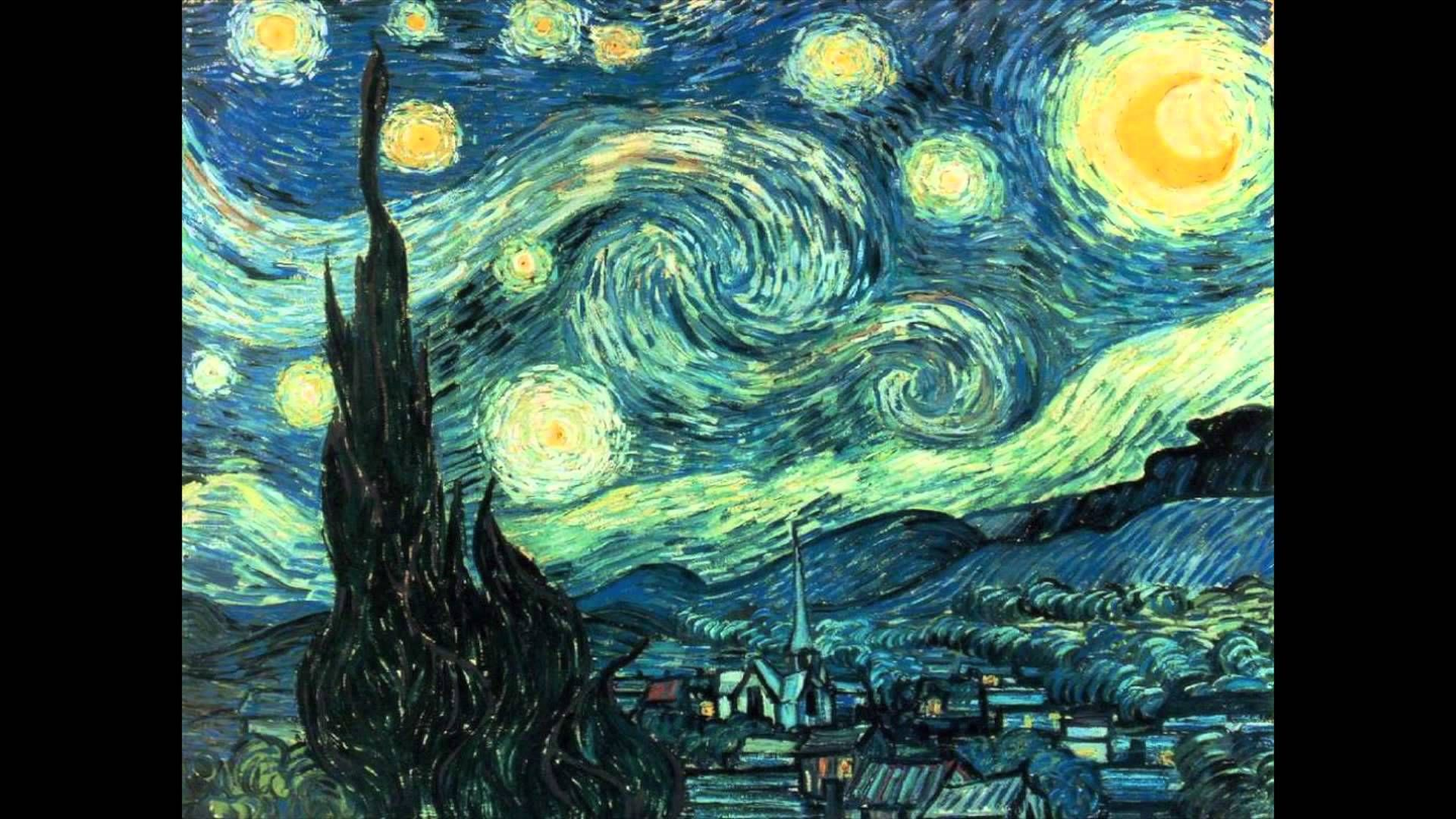 New World S Most Famous Paintings 1080p Hd Starry Night Van Gogh Gogh The Starry Night Van Gogh Art