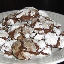 brown sugar chocolate crackle cookies recipe allrecipescom