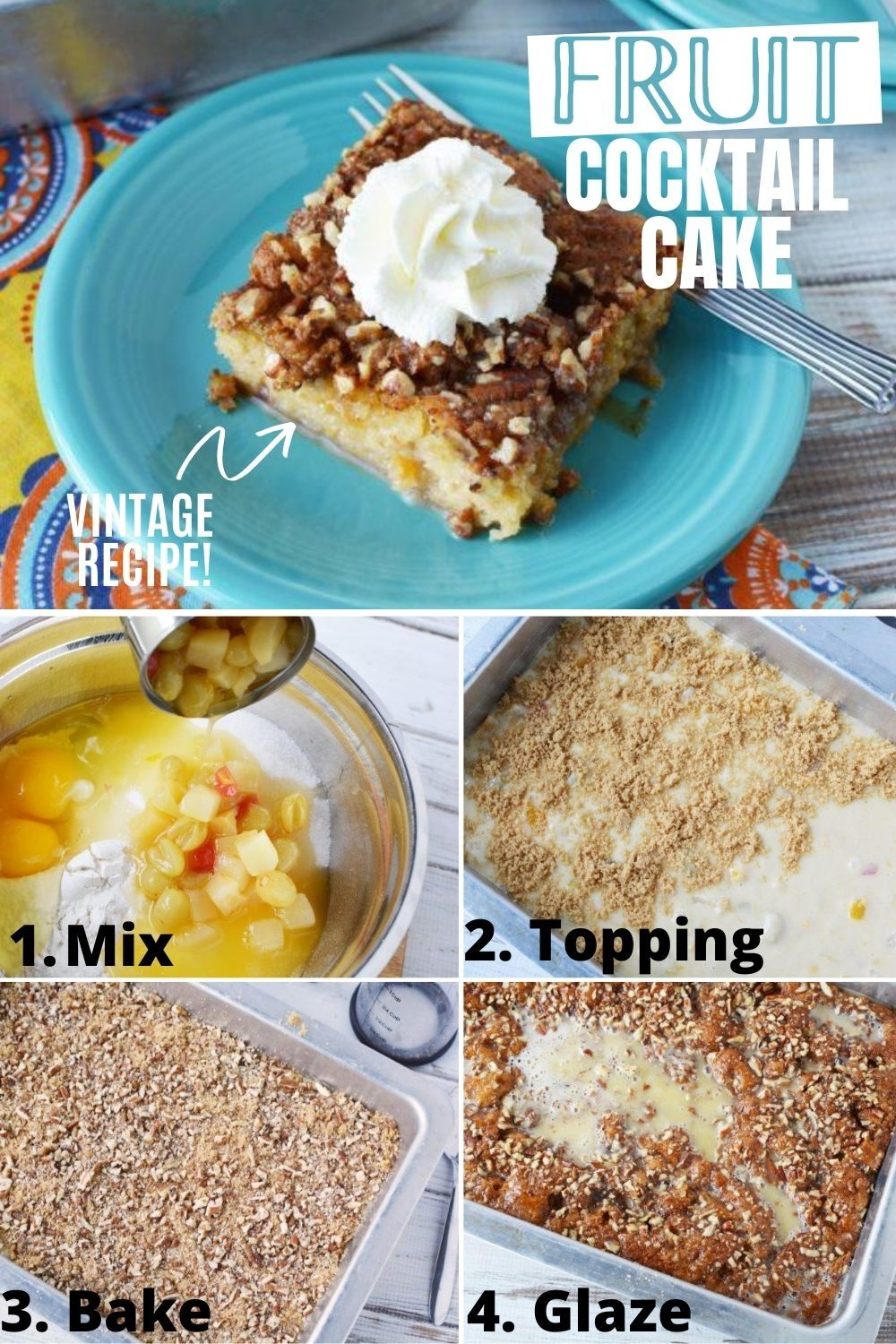 Easy fruit cocktail cake recipe in 2020 how sweet eats