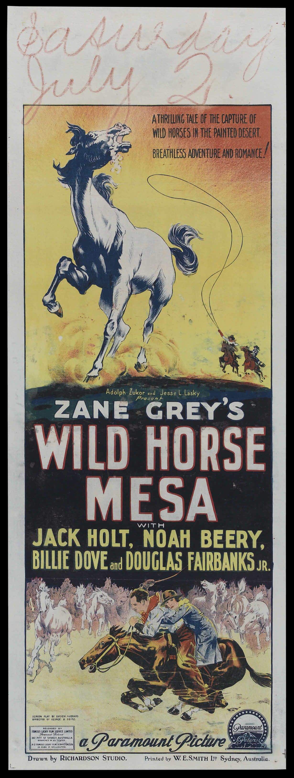 Watch Wild Horse Mesa Full-Movie Streaming