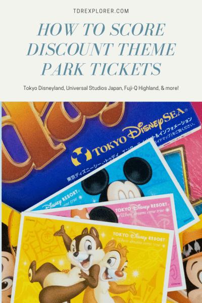 How To Buy Discount Tickets For Universal Disney Theme Parks Worldwide Theme Park Tokyo Disneyland Disney Tokyo