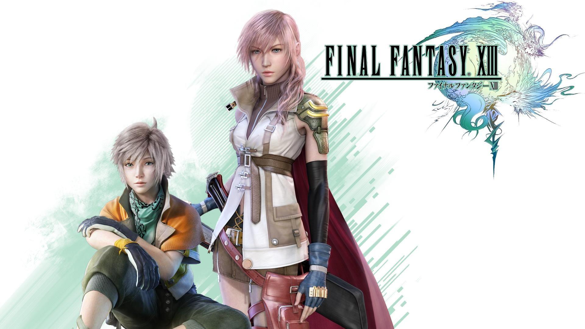 Final Fantasy Xiii Pc Gameplay 1080p Wallpaper Highpeak