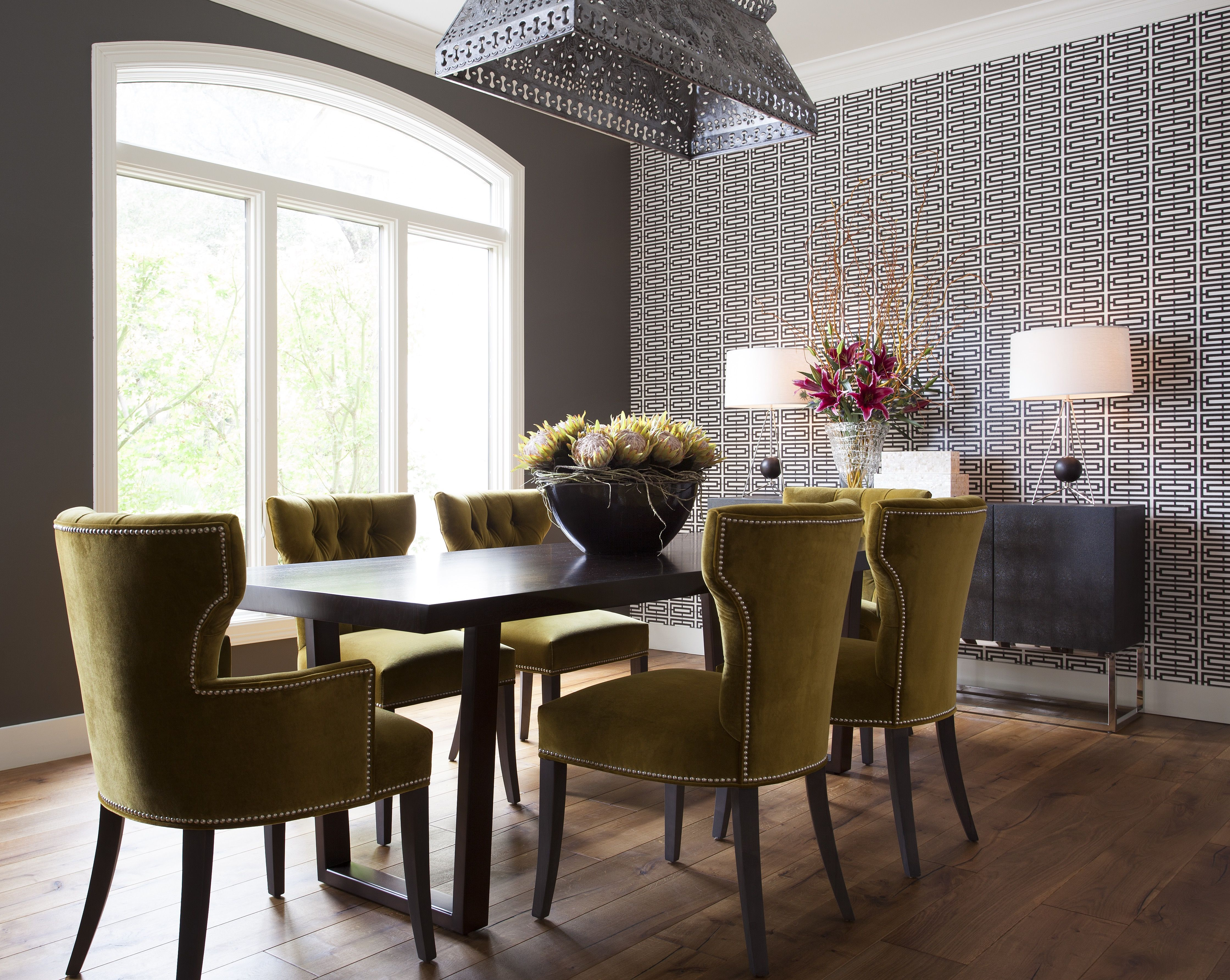 Ariel dining chairs and Kimora dining table available in 3