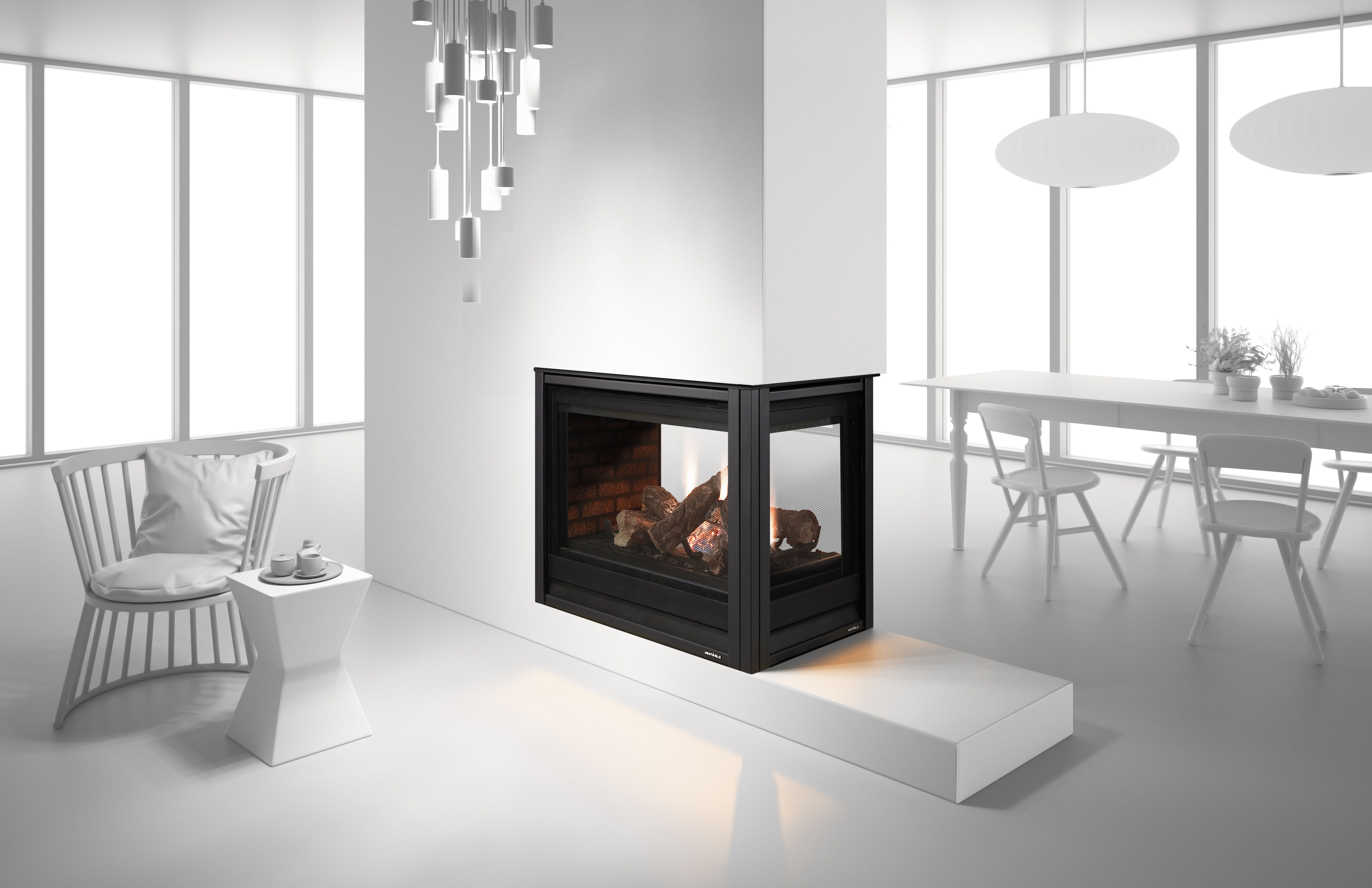 heat glo pier 36tr see through gas fireplace fabulous fireplaces rh pinterest com