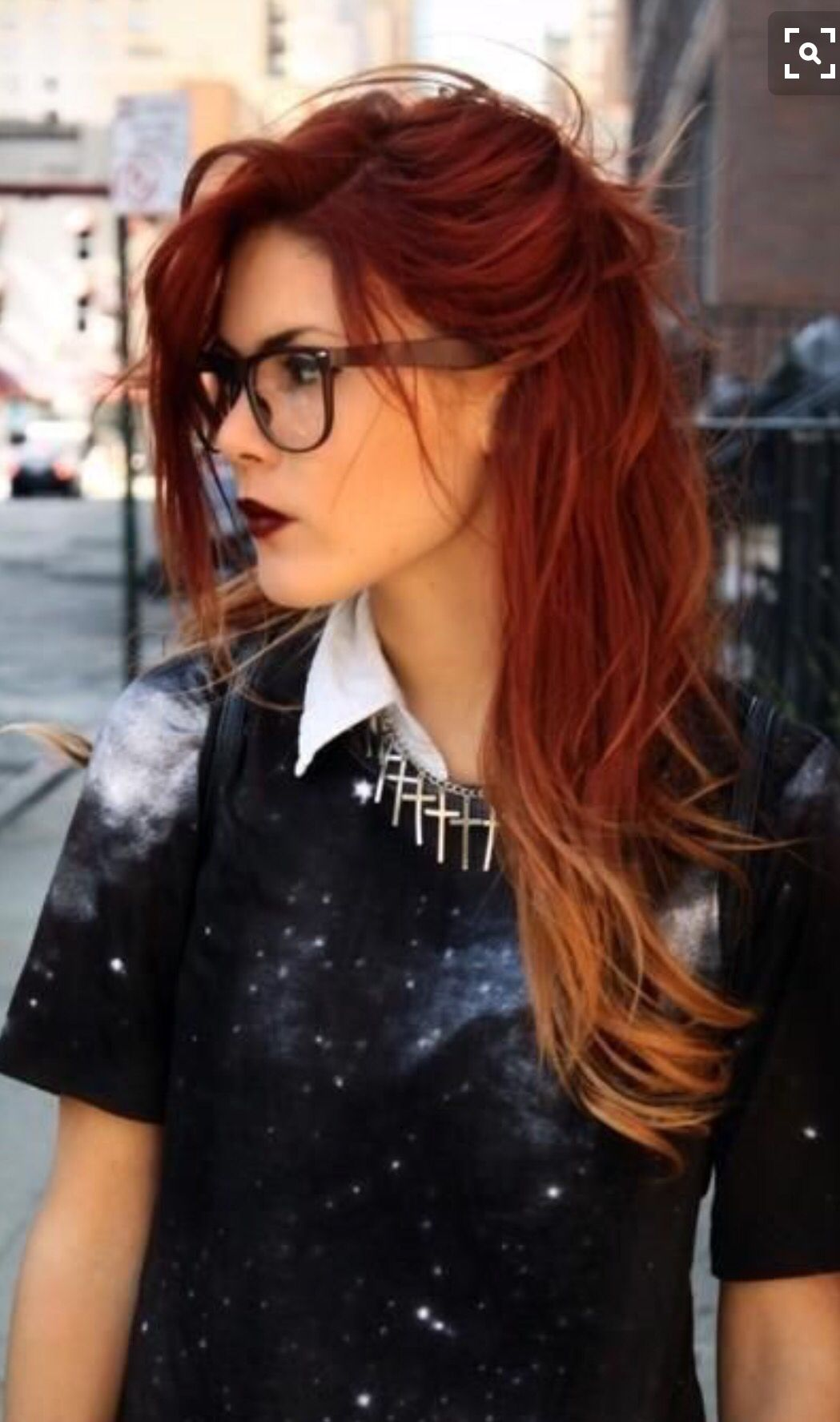 Ombré red hairstyles pinterest hair red ombre hair and ombre hair