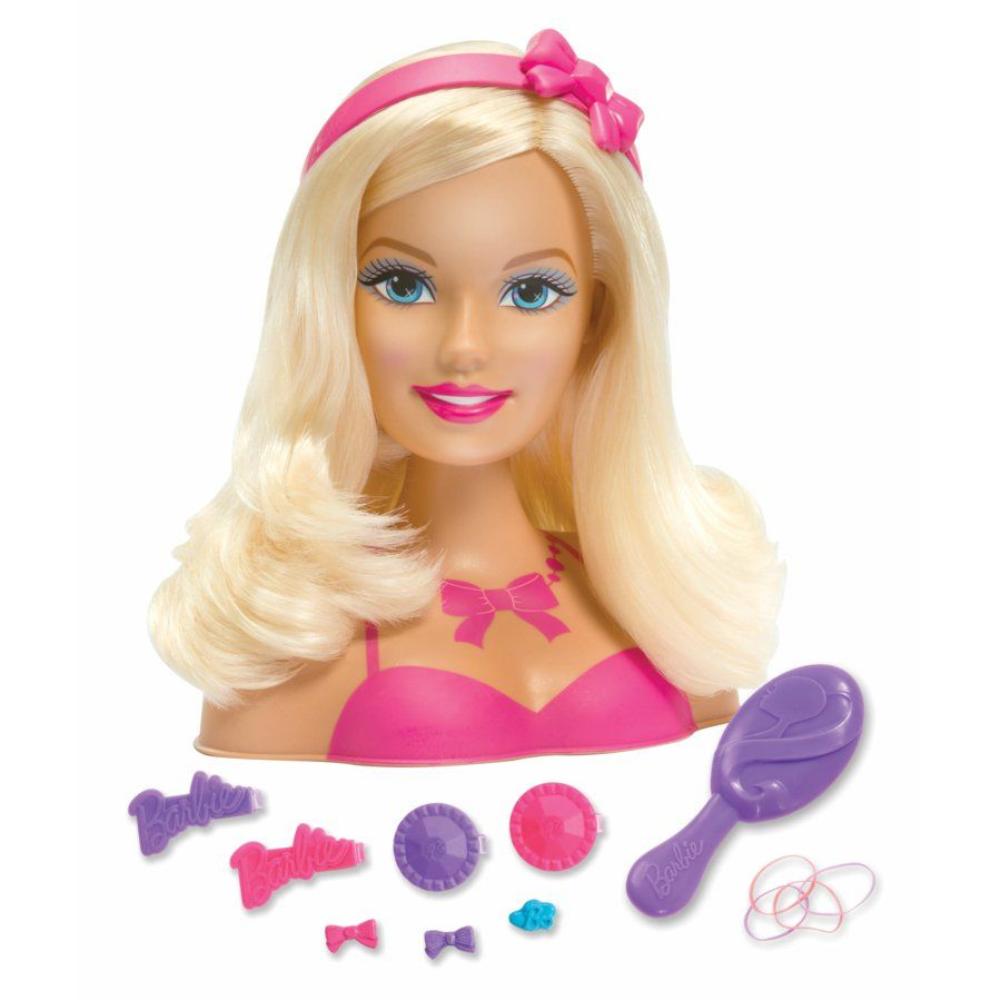 Barbie glam party styling head toysrus babiesrus