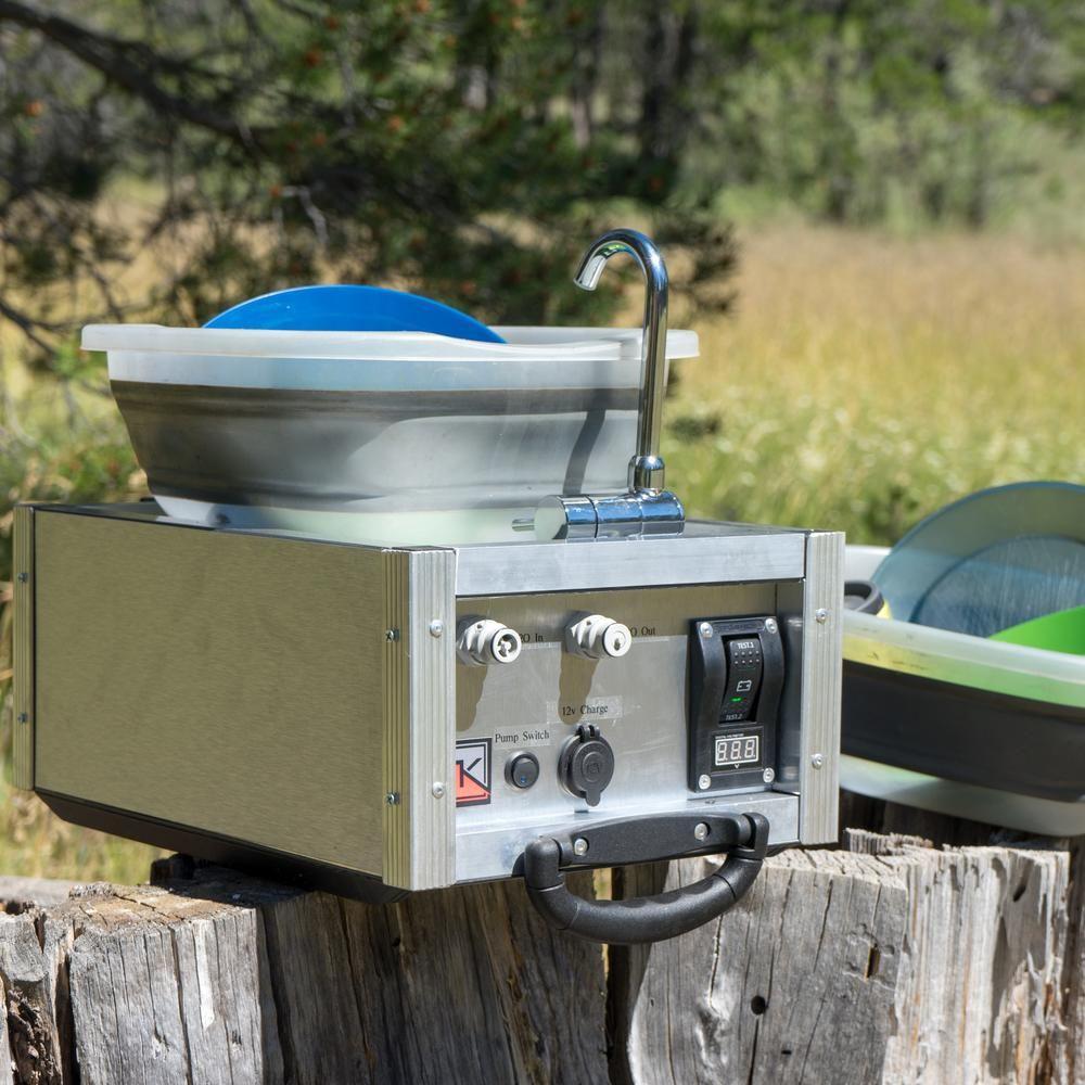 water boy camp sink camping sink