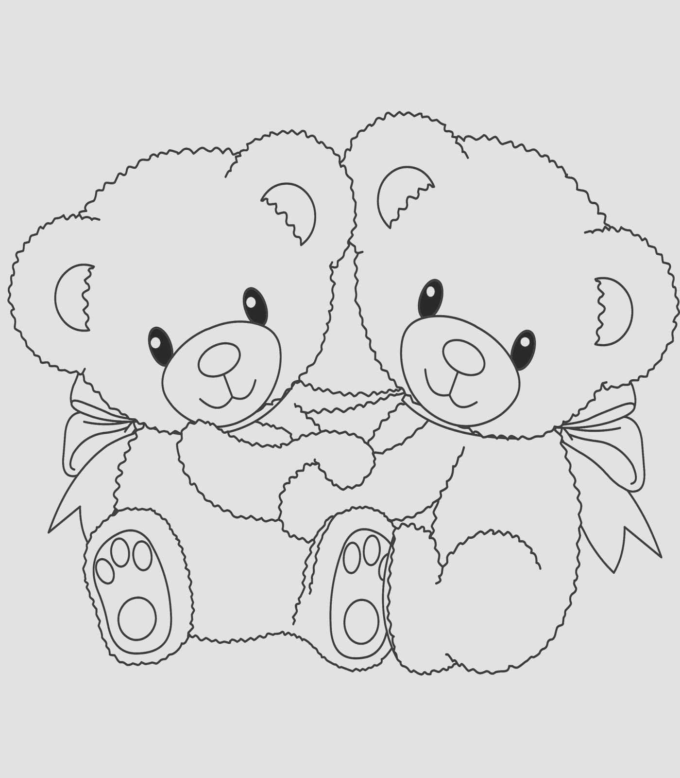 30 Fresh Brown Bear Coloring Pages In