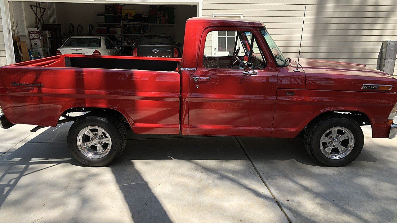 1972 Ford F100 2WD Regular Cab for sale near RALEIGH