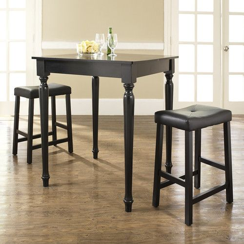 Found it at Wayfair - Claverack 3 Piece Counter Height Pub Table Set
