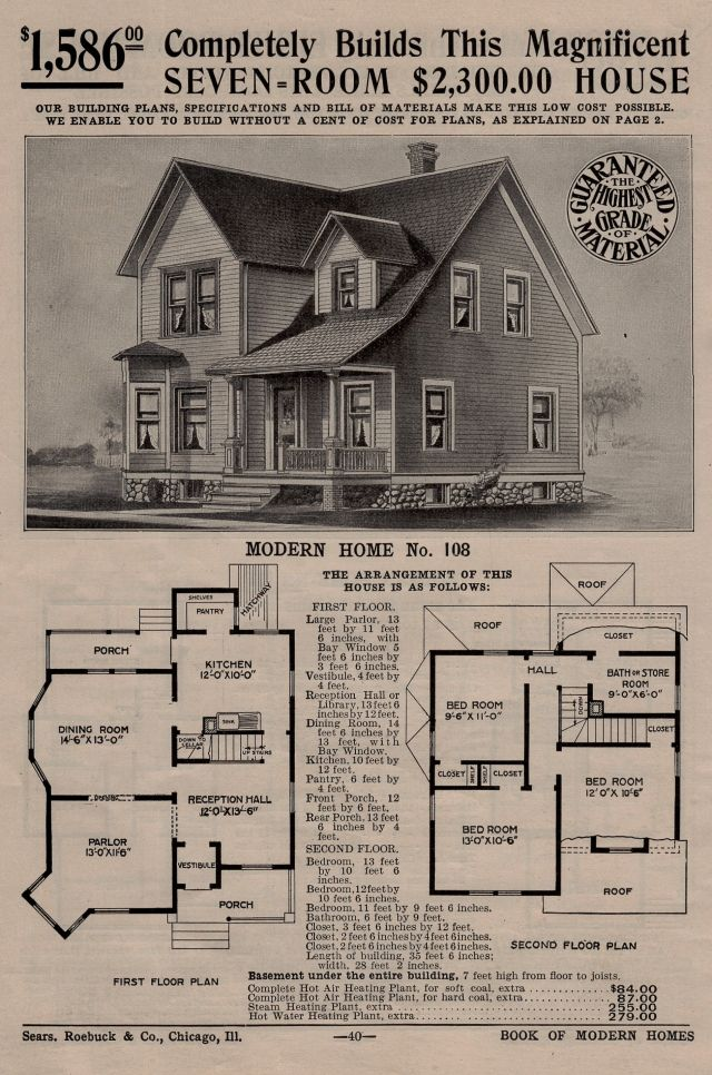 Pin On Houses By Mail Sears Modern Homes