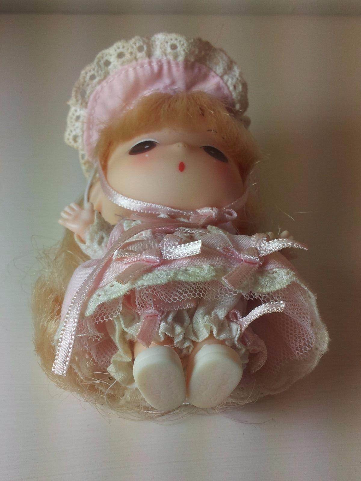 Authentic Korean mini DDUNG doll [11cm] - PINK ROMANCE
