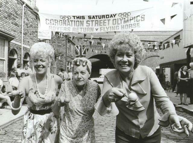 1960 - Coronation Street - Conjuring much-loved moments including Hilda Ogden's exit to Wish Me Luck as You Wave Me Goodbye in 1987 and Reg's waterbed nightmare in 1993, ITV intended Coronation Street to run for only thirteen weeks. In 1971, the 1,000th episode was broadcast and the show has now been running for 53 years.