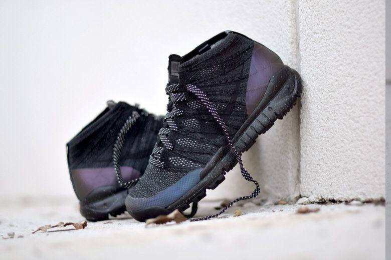 7eabd76c5efc Nike Flyknit Trainer Chukka Black