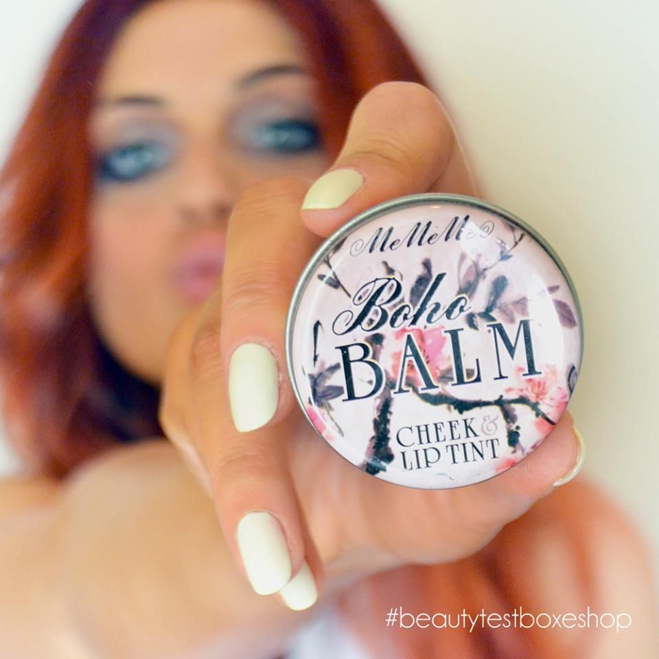 MeMeMe Boho Balm Lip Cheek Tint.. Ζυγωματικά φωτεινά & χείλη για φίλημα με μία κίνηση γρήγορα και εύκολα!! 💖💄✨ Find here: https://goo.gl/i64Yu5 😍 #beautytestbox #beautytestboxeshop #MeMeMe #bohobalm #lipstick #beauty #greek #eshop #shippingtoCyprus