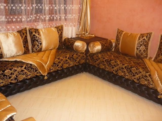 vente de salons marocains pas chers - Peinture Moderne Pour Salon Marocain