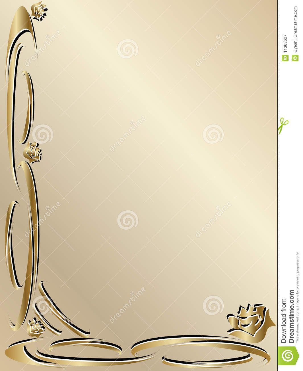 Elegant+Gold+Borders | My Wishlist | Pinterest | Free printable ...