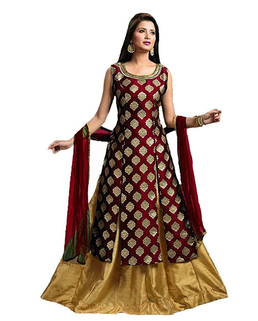 Buy on best prices hirva collections women   jequard silk western gown gowns online also style array present top selling amazon for order rh in pinterest