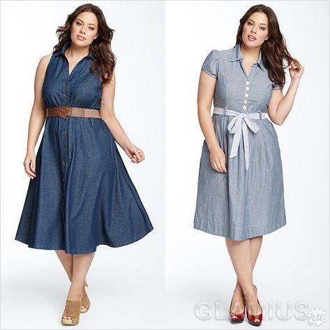 cb7c527d500 Модные джинсовые платья 2014 фото