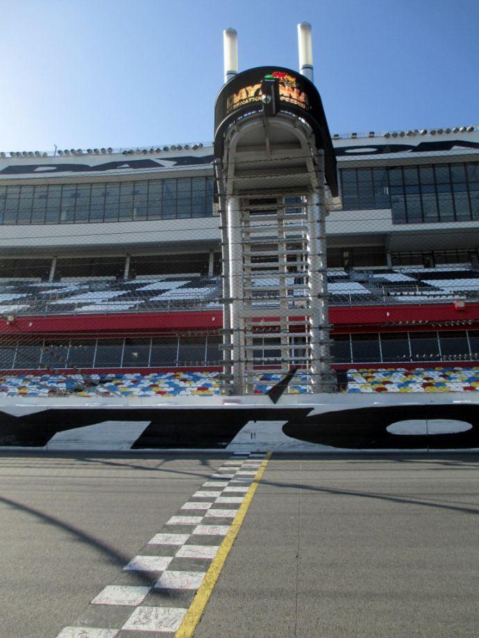 Track Tour Of The Daytona International Speedway Daytona