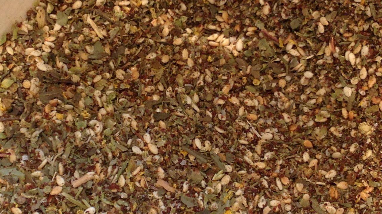 فوائد الزعتر المطحون مع السمسم How To Dry Basil Herbs Thyme