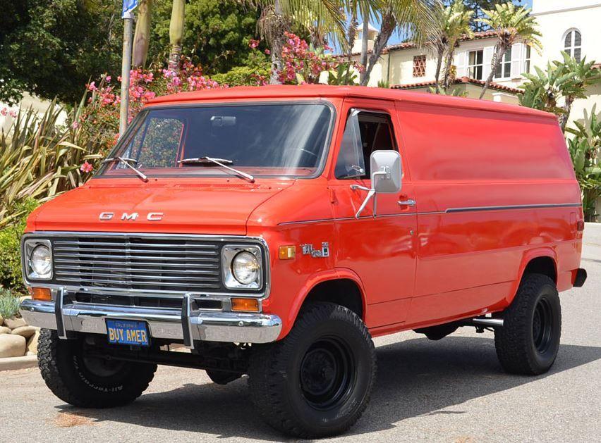 Buy American 1977 Gmc Vandura 35 4x4 Gmc Vans Chevy Van Cool Vans