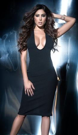 8748dc0327f Jolie+robe+de+soirée+noire+très+tendance+qui+se+portera+en+cérémonie ...