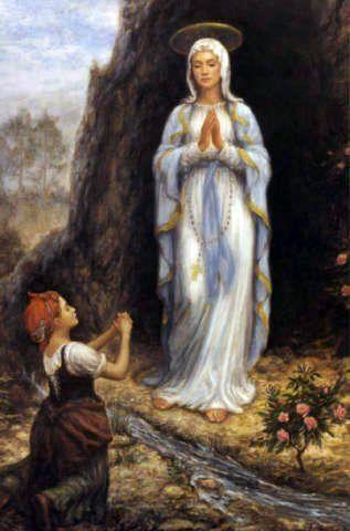 Catholic saint of happiness