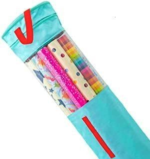 Armour Wrapping Paper Storage â Gift Wrap Organizer That Fits 40â Roll Clutter Armour Wrapping Paper Storage â Gift Wrap Organizer That Fits 40â R...