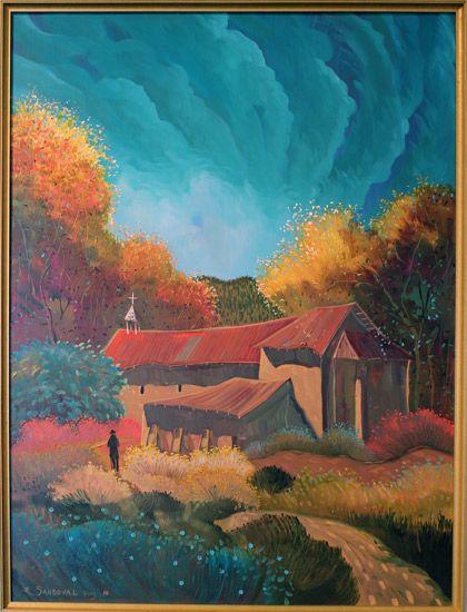 Ed Sandoval Blue Rain Gallery Santa Fe New Mexico Taos Art Mexico Art Southwestern Art