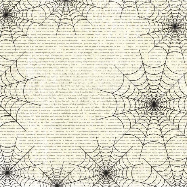 October Thirty First October 12 X 12 Paper Scrapbook Paper
