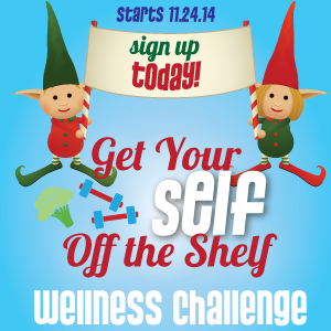 get your self off the shelf holiday wellness challenge weightloss holidays