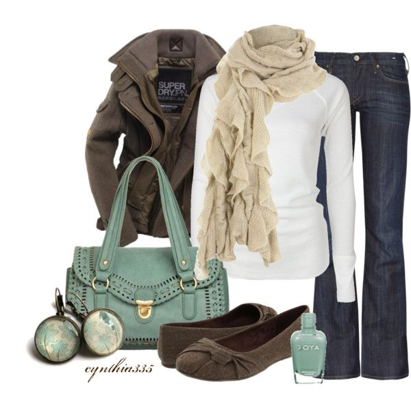 Cute fall outfit....