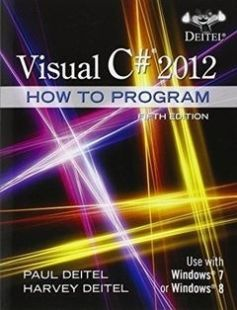 Visual C 2012 How To Program 5th Edition Free Download By Paul Deitel Harvey Deitel Isbn 9780133379 Web Design Quotes Online Web Design Web Design Tutorials