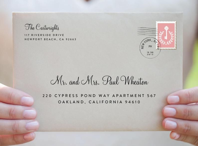 how to address an envelope for an apartment  howots