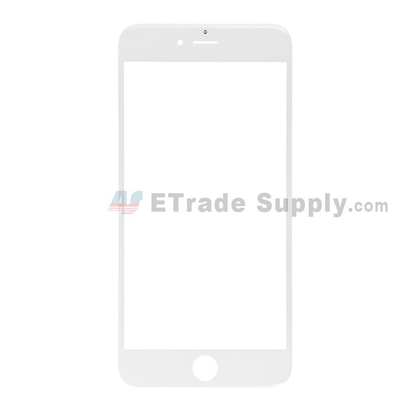 a21765a1e50792 For Apple iPhone 6S Plus Glass Lens Replacement - White - Grade S+ ...