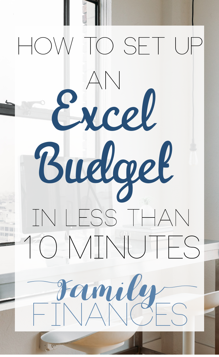 setting up a basic budget in excel budgeting excel budget and