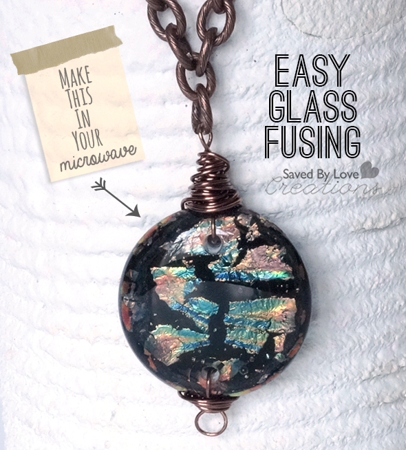 How To Make Fused Gl Jewelry In Your Microwave Beautiful Dichroic Focal Pieces Minutes